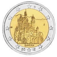 GERMANY 2 EURO 2012 - BAVARIA - J - HAMBURG