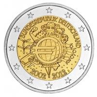 GERMANY 2 EURO 2012 - 10 YEARS OF EURO - D - MUNICH