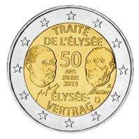 GERMANY 2 EURO 2013 - 50 YEARS OF THE ELYSEE TREATY  - A - BERLIN