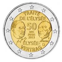 GERMANY 2 EURO 2013 - 50 YEARS OF THE ELYSEE TREATY - F - STUTTGART