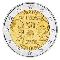 GERMANY 2 EURO 2013 - 50 YEARS OF THE ELYSEE TREATY - G - KARLSRUHE
