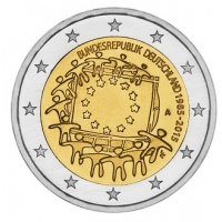 GERMANY 2 EURO 2015 - 30 YEARS OF THE EU FLAG  - A - BERLIN