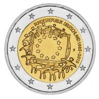 GERMANY 2 EURO 2015 - 30 YEARS OF THE EU FLAG - F - STUTTGART