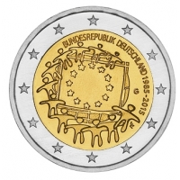 GERMANY 2 EURO 2015 - 30 YEARS OF THE EU FLAG - G - KARLSRUHE