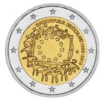 GERMANY 2 EURO 2015 - 30 YEARS OF THE EU FLAG - G - KARLSRUHE