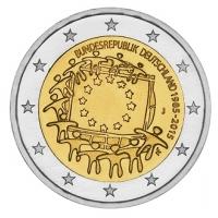 GERMANY 2 EURO 2015 - 30 YEARS OF THE EU FLAG - J - HAMBURG