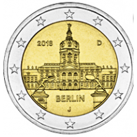 GERMANY 2 EURO 2018 - BERLIN - J - HAMBURG
