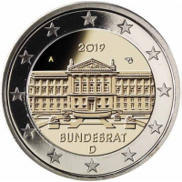 GERMANY 2 EURO 2019 - BUNDESRAT - A - BERLIN