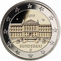 GERMANY 2 EURO 2019 - BUNDESRAT - D - MUNICH