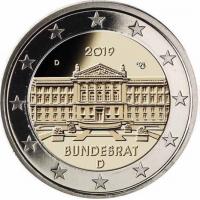 GERMANY 2 EURO 2019 - BUNDESRAT - D - MUNICH