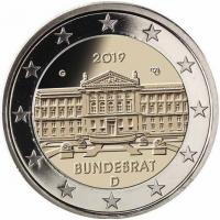 GERMANY 2 EURO 2019 - BUNDESRAT - G - KARLSRUHE