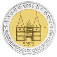 GERMANY 2 EURO 2006 - HOLSTEIN - G - KARLSRUHE