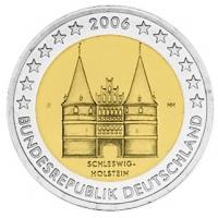 GERMANY 2 EURO 2006 - HOLSTEIN - F - STUTTGART