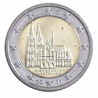 GERMANY 2 EURO 2011 - NORTH RHINE WESTPHALIA - G - KARLSRUHE