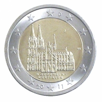 GERMANY 2 EURO 2011 - NORTH RHINE WESTPHALIA - J - HAMBURG