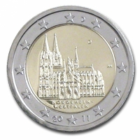 GERMANY 2 EURO 2011 - NORTH RHINE WESTPHALIA - D - MUNICH