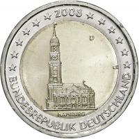 GERMANY 2 EURO 2008 - HAMBURG