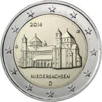 GERMANY 2 EURO 2014 - NIEDERSACHSEN