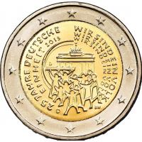 GERMANY 2 EURO 2015 - 25 YEARS OF GERMAN UNITY