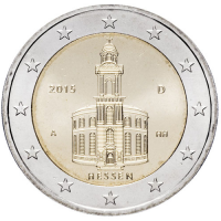 GERMANY 2 EURO 2015 - ST PAULS CHURCH