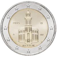 GERMANY 2 EURO 2015 - ST PAULS CHURCH