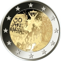 GERMANY 2 EURO 2019/2 - 30TH ANNIVERSARY OF THE FALL OF THE BERLIN WALL - F