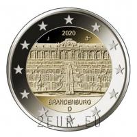 GERMANY 2 EURO 2020 - PALACE IN POTSDAM