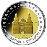 GERMANY 2 EURO 2006 - HOLSTEIN (A.D.F.G.J)