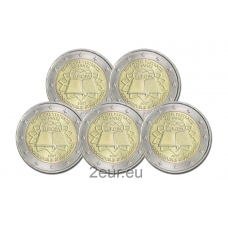 GERMANY 2 EURO 2007 - TREATY OF ROME (FULL SET)