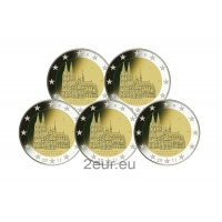 GERMANY 2 EURO 2011 - NORTH RHINE WESTPHALIA (FULL SET)