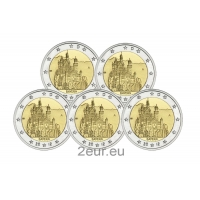 GERMANY 2 EURO 2012 - BAVARIA (FULL SET)