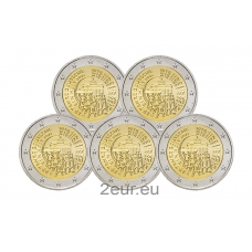 GERMANY 2 EURO 2015 - 25 YEARS OF GERMAN UNITY (FULL SET)