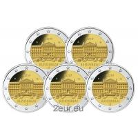 GERMANY 2 EURO 2019 - BUNDESRAT (A D F G J)