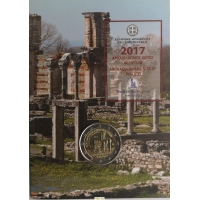 GREECE 2 EURO 2017 - ARCHEOLOGICAL SITE OF PHILIPPI - C/C