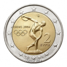 GREECE 2 EURO 2004 - OLYMPIC GAMES IN ATHENS 2004