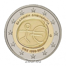 GREECE 2 EURO 2009 - EMU
