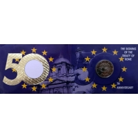 IRELAND 2 EURO 2007 - TREATY OF ROME CC