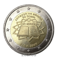 IRELAND 2 EURO 2007 - TREATY OF ROME