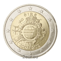 IRELAND 2 EURO 2012 - 10 YEARS OF EURO