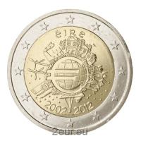 IRELAND 2 EURO 2012 - 10 YEARS OF EURO
