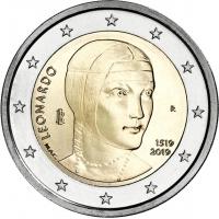 ITALY 2 EURO 2019 - LEONARDO DA VINCI