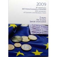 ITALY 2 EURO 2009 - EMU C/C