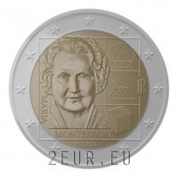 ITALY 2 EURO 2020 - MARIA MONTESSORI