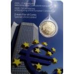ITALY 2 EURO PROOF AND COIN CARD