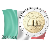 ITALY 2 EURO 2007 - TREATY OF ROME