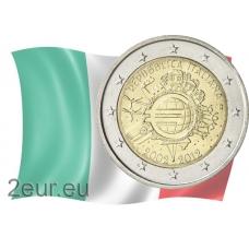 ITALY 2 EURO 2012 - 10 YEARS OF EURO