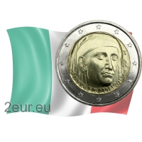 ITALY 2 EURO 2013 - 700TH BIRTHDAY OF GIOVANNI BOCCACCIO