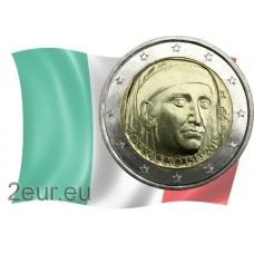 ITALY 2 EURO 2013 - 700TH BIRTHDAY OF GIOVANNI BOCCACCIO