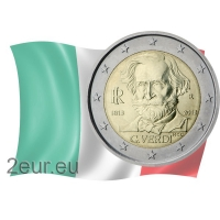 ITALY 2 EURO 2013 - 200TH BIRTHDAY OF GIUSEPPE VERDI