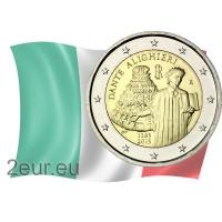 ITALY 2 EURO 2015 - 750TH ANNIVERSARY OF DANTE ALIGHIERI